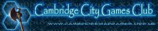 Cambridge City Games Club Logo